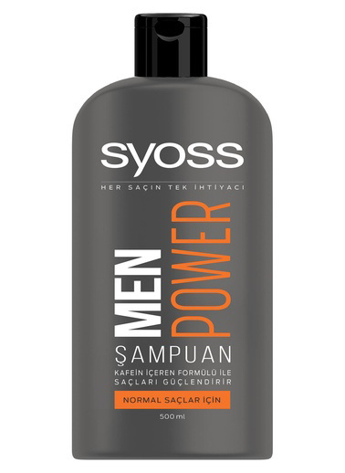 Syoss Syoss Men Power Şampuan 550 Ml Renksiz